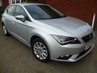 2013 SEAT LEON 1.6 TDI SE TECHNOLOGY 5d 105 BHP Nav + Extra Spec Car £9177.00