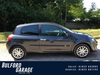 2007 RENAULT CLIO 1.6 DYNAMIQUE S 16V 3d 111 BHP £2975.00