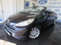 2007 PEUGEOT 207 1.6 GT COUPE CABRIOLET 2d 118 BHP £2895.00