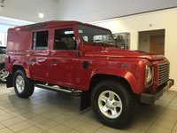 2013 LAND ROVER DEFENDER 110 2.2 TD XS UTILITY WAGON 1d 122 BHP £24000.00