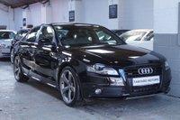 2012 AUDI A4 2.0 TFSI QUATTRO S LINE BLACK EDITION 4d 208 BHP £14995.00