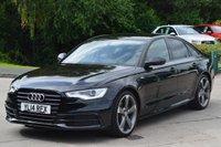 2014 AUDI A6 2.0 TDI ULTRA S LINE BLACK EDITION 4d AUTO 190 BHP £21990.00
