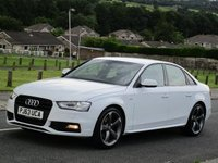 USED 2013 63 AUDI A4 2.0 TDI Black Edition 4dr 0 OWNERS!!!