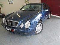 2002 MERCEDES-BENZ CLK 3.2 CLK320 ELEGANCE 2d AUTO 218 BHP £1695.00