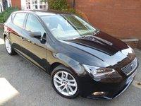 2013 SEAT LEON 1.6 TDI SE TECHNOLOGY 5d 105 BHP Extra Spec Car, Sat Nav £8778.00