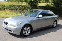 USED 2005 55 BMW 5 SERIES 2.5 525D SE 4d AUTO 175 BHP PARKING SENSOR + 2 REMOTE KEYS