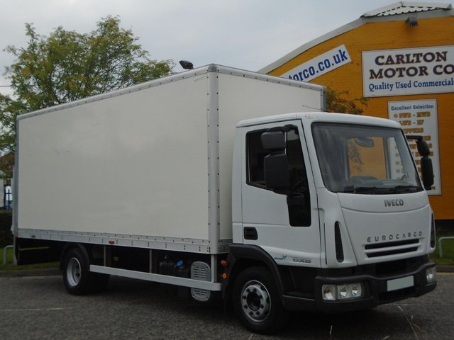 2006 56 IVECO-FORD EUROCARGO 100E22 [ Low Mileage ] 20ft Box body+T/Lift AD Blue Side Door Free UK Delivery