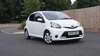 2013 TOYOTA AYGO 1.0 VVT-I MOVE WITH STYLE 5d 68 BHP £5500.00