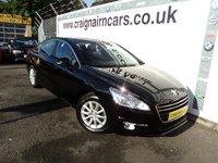 2012 PEUGEOT 508 2.0 SR HDI FAP 4d 163 BHP £8495.00