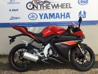 USED 2016 YAMAHA YZF-R125 ABS FRESH RED, *FINANCE AVAILABLE*