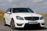 2013 MERCEDES-BENZ C CLASS 6.2 C63 AMG 5d AUTO 457 BHP £34950.00