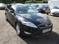 2012 FORD MONDEO 1.6 ZETEC TDCI 5 DR ESTATE DIESEL �30 YEARLY TAX £7500.00