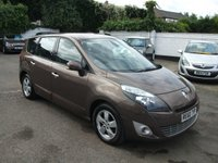 2010 RENAULT GRAND SCENIC 1.5 DYNAMIQUE TOMTOM DCI DIESEL 7 SEATER MPV £6000.00