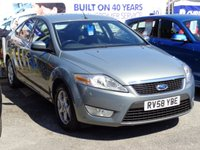 2008 FORD MONDEO 1.8 TDCi ZETEC 5dr (125) Lovely Example £4690.00