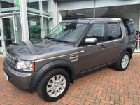2010 LAND ROVER DISCOVERY 2.7 4 TDV6 COMMERCIAL 1d AUTO 190 BHP £15500.00