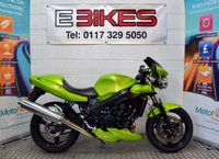 2004 04 TRIUMPH SPEED FOUR 600 CC SPORTS VERY GOOD CONDITION £2295.00