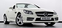 2011 MERCEDES-BENZ SLK 1.8 SLK200 BlueEFFICIENCY AMG Sport Edition 125 7G-Tronic 2dr £17995.00