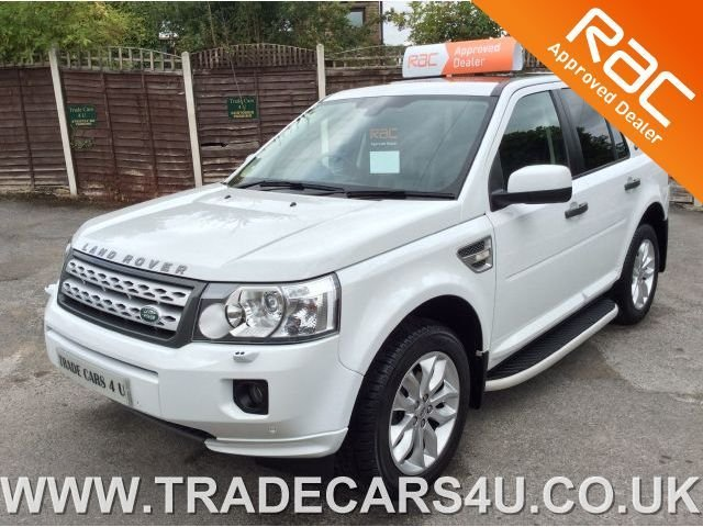 2010 60 LAND ROVER FREELANDER 2 2.2 SD4 4.4 AUTOMATIC HSE