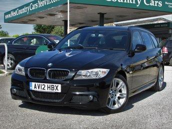 2012 BMW 3 SERIES 2.0 320I M SPORT TOURING 5d 168 BHP £13000.00