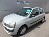 2003 RENAULT CLIO 1.1 EXPRESSION 16V 3d 75 BHP LOW MILEAGE £995.00