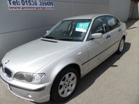 2002 BMW 3 SERIES 2.0 318I SE 4d 141 BHP LEATHER CLIMATE CONTROL SILVER £995.00