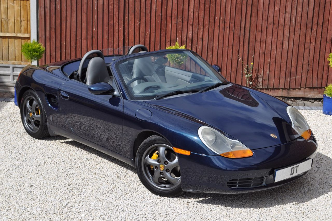 USED 2000 V PORSCHE BOXSTER 986 CONVERTIBLE MANUAL EXCEPTIONAL 2 OWNER  EXAMPLE