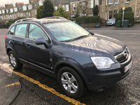 USED 2009 59 VAUXHALL ANTARA 2.0 1d ANTARA PRICE INCLUDES A 6 MONTH AA WARRANTY DEALER CARE EXTENDED GUARANTEE, 1 YEARS MOT AND A OIL & FILTERS SERVICE. FULL LEATHER 4X4.