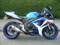 2007 SUZUKI GSX-R  600 K7 £4495.00