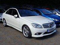 2008 MERCEDES-BENZ C CLASS C220 2.1 CDi Sport 4dr Auto 170 bhp TD £11000.00