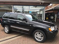 2010 JEEP GRAND CHEROKEE 3.0 V6 CRD OVERLAND TECH 5d AUTO 215 BHP £11995.00