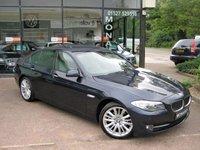 2011 BMW 5 SERIES 3.0 523I SE 4d AUTO 202 BHP £12990.00