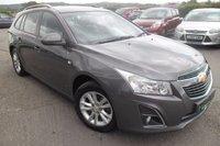 2013 CHEVROLET CRUZE 1.8 LT 5d AUTO 139 BHP £6600.00