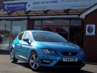 2014 SEAT LEON 2.0 TDi FR  (185) PartLeather £11490.00