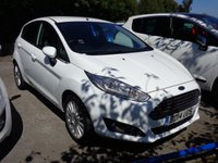2014 FORD FIESTA 1.5 TDCi TITANIUM 5dr * FULL LEATHER * £9000.00