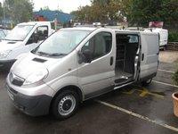 2012 VAUXHALL VIVARO 2.0 2900 CDTI 115 BHP LONG WHEEL BASE  METALLIC SILVER  2,0 DIESEL  ONE OWNER FULL DEALER SERVICE HISTORY NICE CLEAN VAN    £5250.00