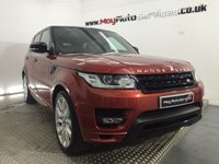 2013 LAND ROVER RANGE ROVER SPORT 3.0 SDV6 AUTOBIOGRAPHY DYNAMIC 5d AUTO 288 BHP £51995.00