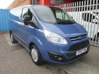 2013 FORD TRANSIT CUSTOM 270 TREND L1 SWB 100PS *CRUISE*BLUETOOTH* £10495.00