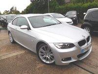 2008 BMW 3 SERIES 2.0 320I M SPORT 2d 168 BHP £7995.00