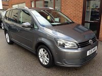USED 2011 61 VOLKSWAGEN TOURAN 2.0 SE TDI 5d 142 BHP 7-Seater,   Full service history,   Cloth upholstery,   VW Park Assist - self parking system,   Front & rear parking sensors