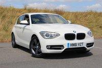 2012 BMW 1 SERIES 1.6 116I SPORT 5d AUTO 135 BHP £SOLD
