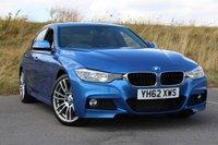 2012 BMW 3 SERIES 2.0 320D M SPORT 4d AUTO 181 BHP £16950.00