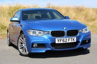 2012 BMW 3 SERIES 3.0 330D M SPORT 4d AUTO 255 BHP £19950.00