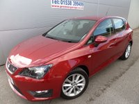 2013 SEAT IBIZA 1.6 CR TDI FR 5d 104 BHP ONLY 7000 MILES STUNNING COLOUR £8495.00