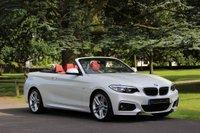 2015 BMW 2 SERIES 2.0 220D M SPORT 2d 188 BHP £25990.00