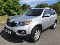2010 KIA SORENTO 2.2 CRDI KX-2 5d 195 BHP FACELIFT 7 SEATER LEATHER £12790.00