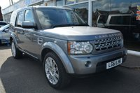 2011 LAND ROVER DISCOVERY 3.0 4 SDV6 HSE 5d 255 BHP £23995.00