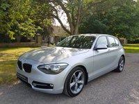 2012 BMW 1 SERIES 2.0 116D SPORT 5d 114 BHP £10999.00