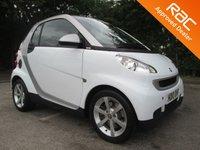 2010 SMART FORTWO 1.0 PULSE MHD 2d AUTO 71 BHP £3750.00