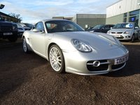 USED 2006 06 PORSCHE CAYMAN 3.4 987 S 2dr 7 SERVICE STAMPS,FREE AA COVER,2 KEYS GREAT LOOKER