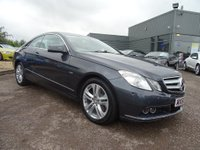 USED 2010 60 MERCEDES-BENZ E CLASS 2.1 E250 CDI BlueEFFICIENCY SE 2dr 1 OWNER 6 SERVICE STAMPS,VERY VERY HIGH SPEC